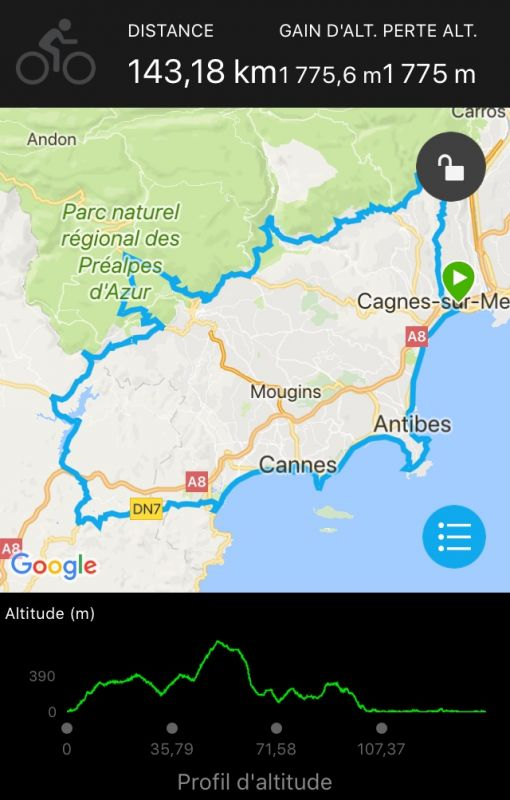 Sortie vélo du dimanche 26/11/2017
